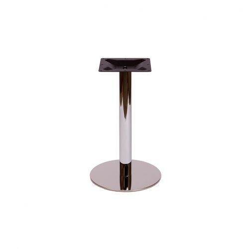 chrome round base in standard height