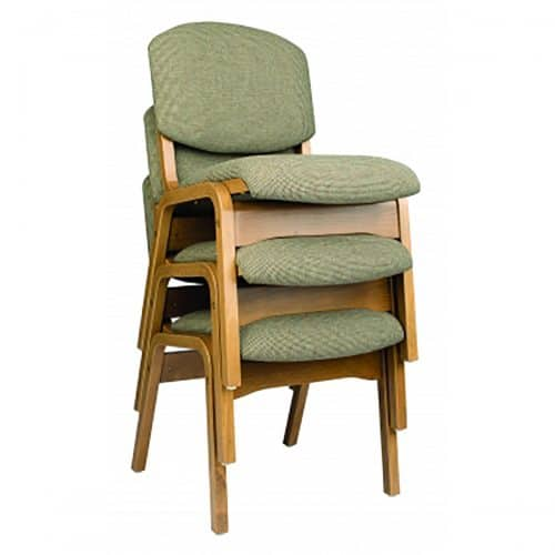 stackable wooden chairs