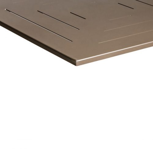 bronze outdoor table top