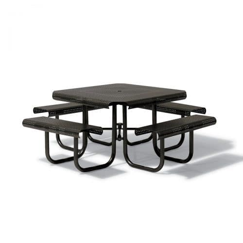 "46"" Square table with 4 seats"