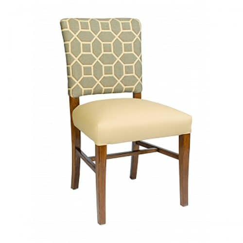 Remy Accent side chair with upholstery