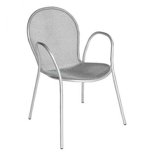 ronda extended steel arm chair