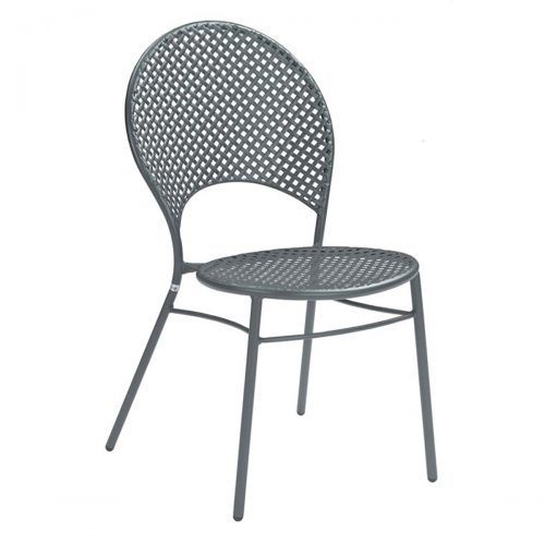 Interlace Steel Mesh chair