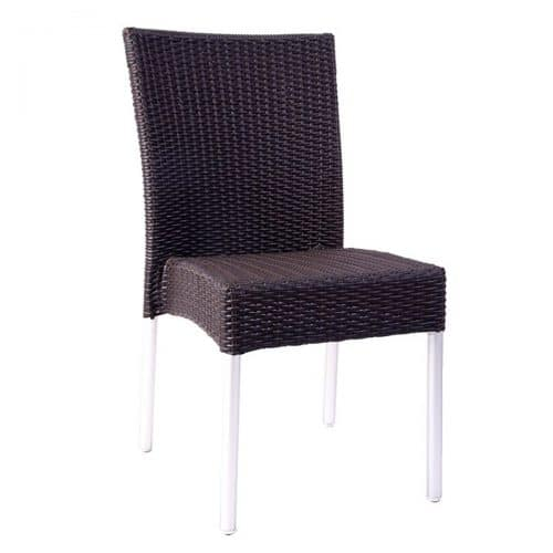 all weather wicker side chair