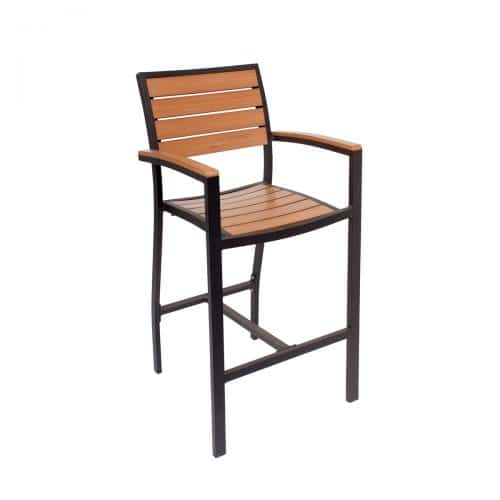 largo arm barstool