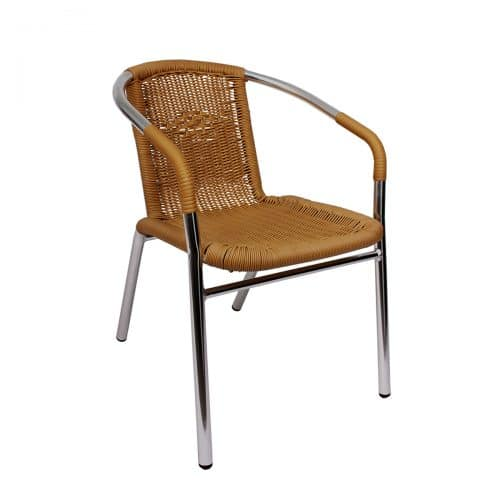 madrid arm chair in tan
