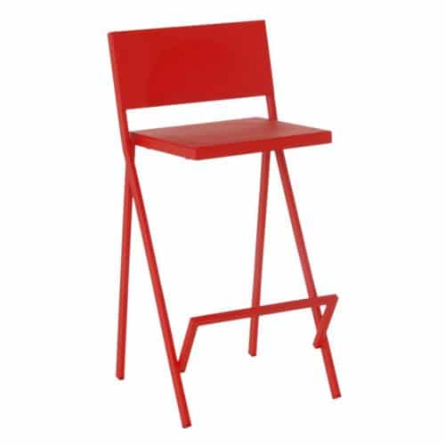 aluminum seat and back barstool