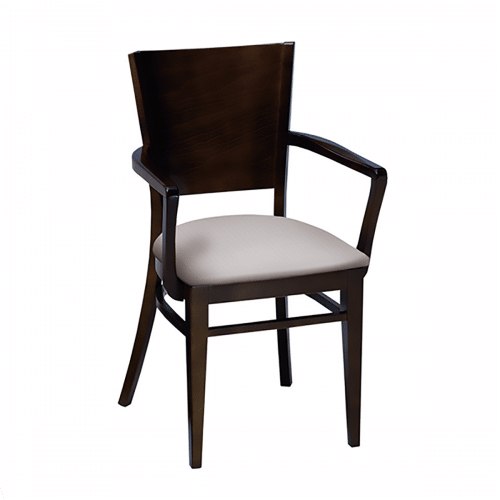 Wood Melissa Arm Chair – 504A