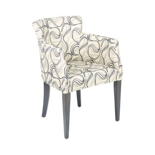 upholstered armchair with swivel designs