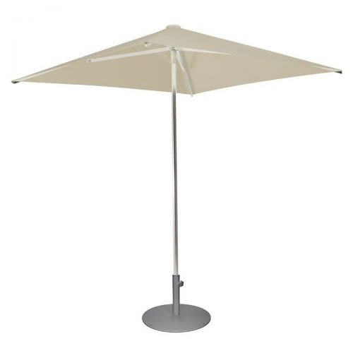 umbrella with square shade and aluminum pole