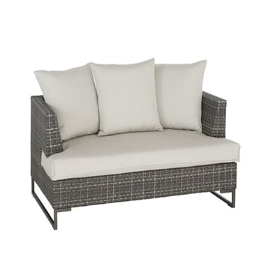 commercial outdoor loveseat