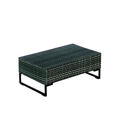commercial outdoor ottoman or low table