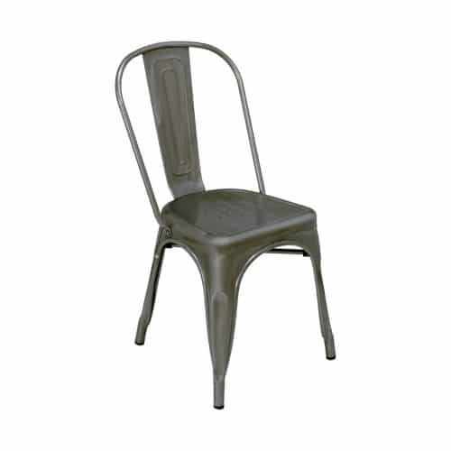 industrial chair bronze