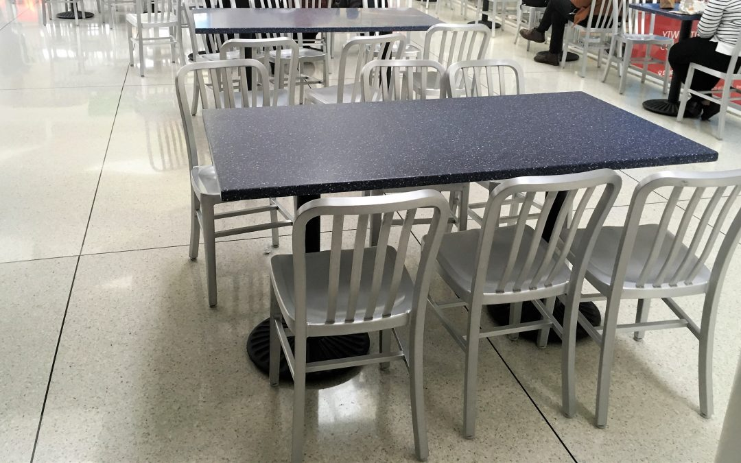 Food Court Furniture for JFK