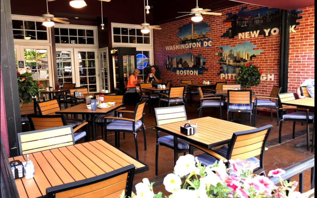 Restaurant Furniture for East Coast Deli!