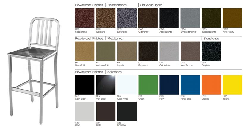 809-30-MS barstool and color options