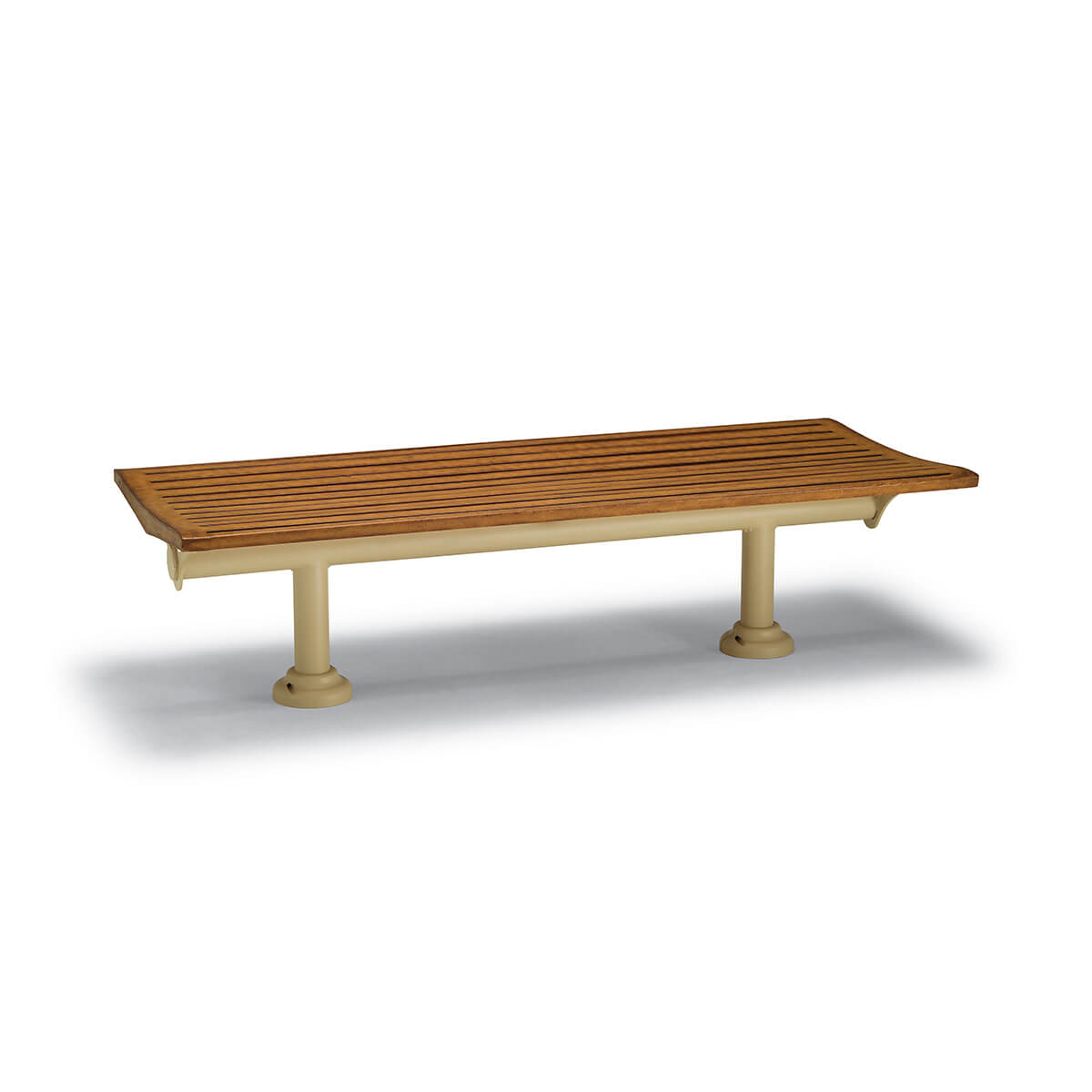 Backless Benches for Commercial Spaces