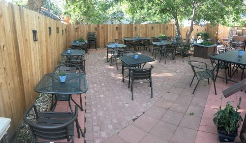 New patio furniture