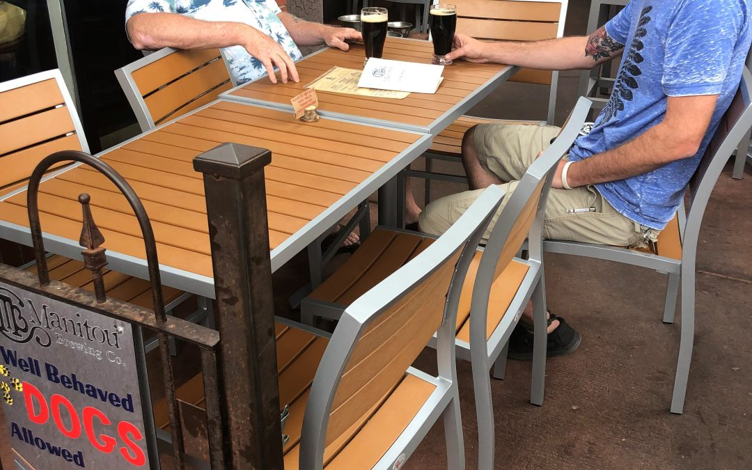 Patio Furniture for Manitou Brewing Company